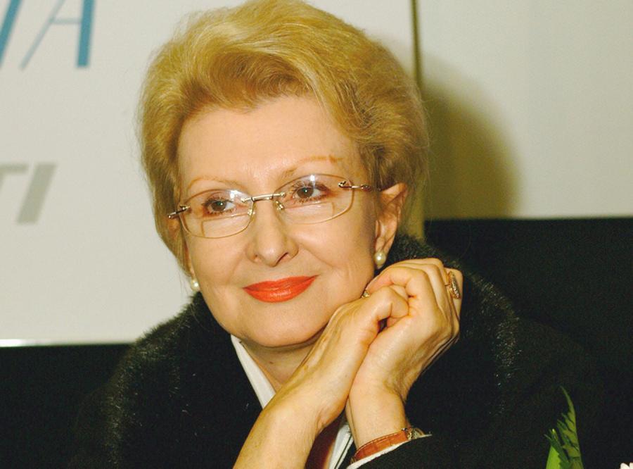 Piękna 75-letnia Jadwiga Barańska