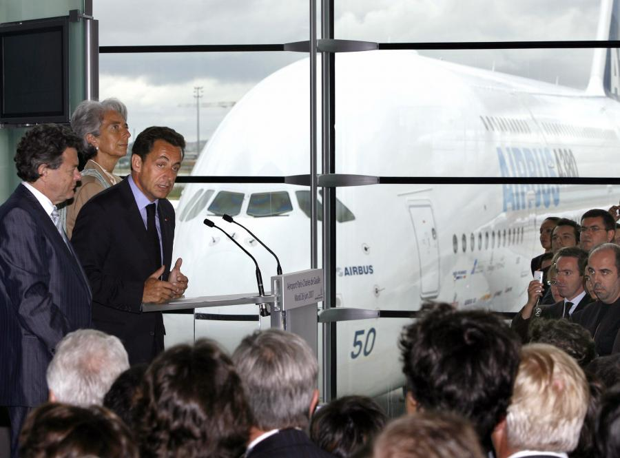 Nicolas Sarkozy wymarzył sobie nowego prezydenckiego airbusa. I go dostał
