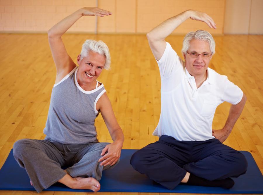 Dzięki gimnastyce będziemy młodsi