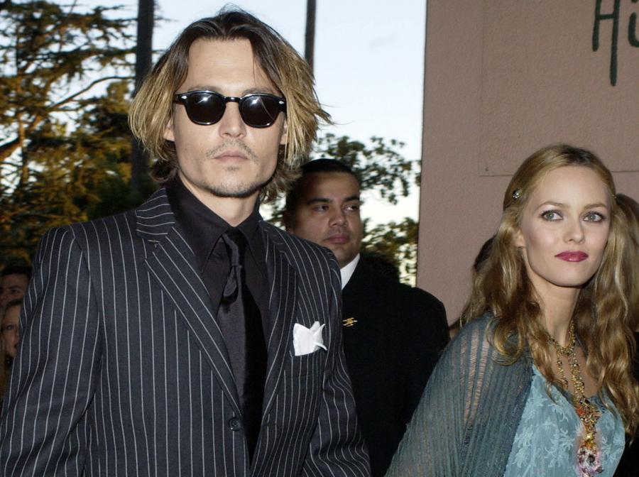 Depp z żoną