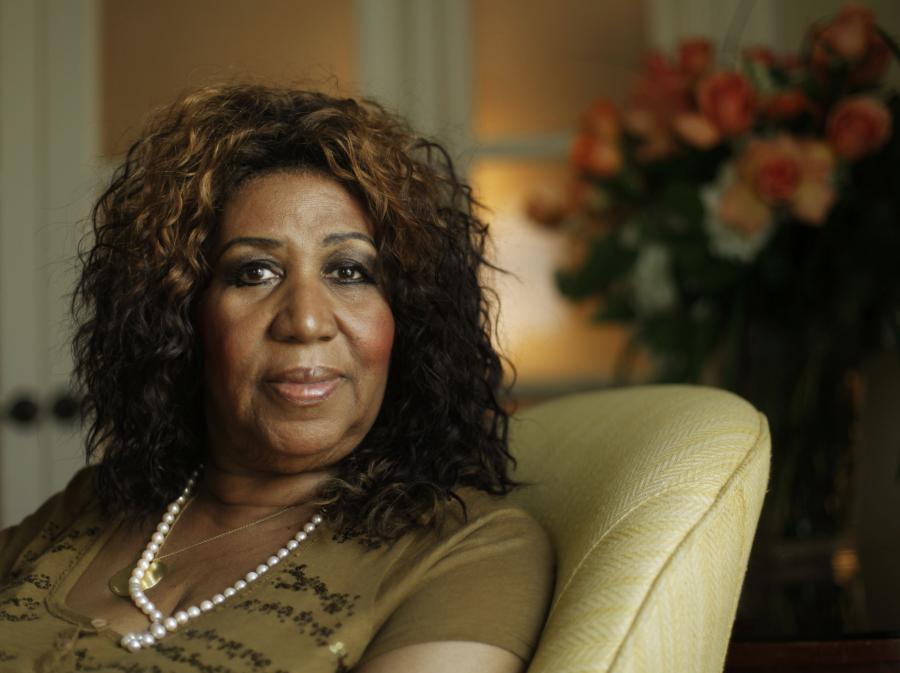 Szacowna jubilatka Aretha Franklin
