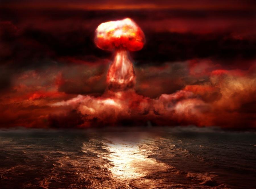 Wybuch bomby atomowej - zdjęcie ilustracyjne