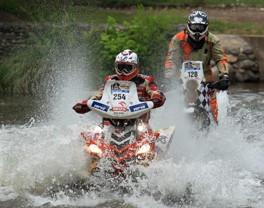 33. Rajd Dakar - Sonik wycofał się z rywalizacji