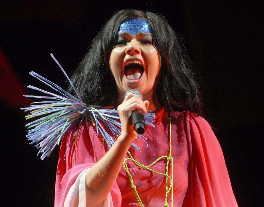 Björk przerywa milczenie