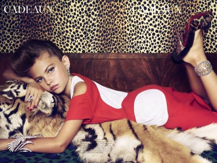 Skandalizująca sesja zdjęciowa z 6-letnimi dziwczynkami miała poważne konsekwencje. Źródło: Vogue Paris