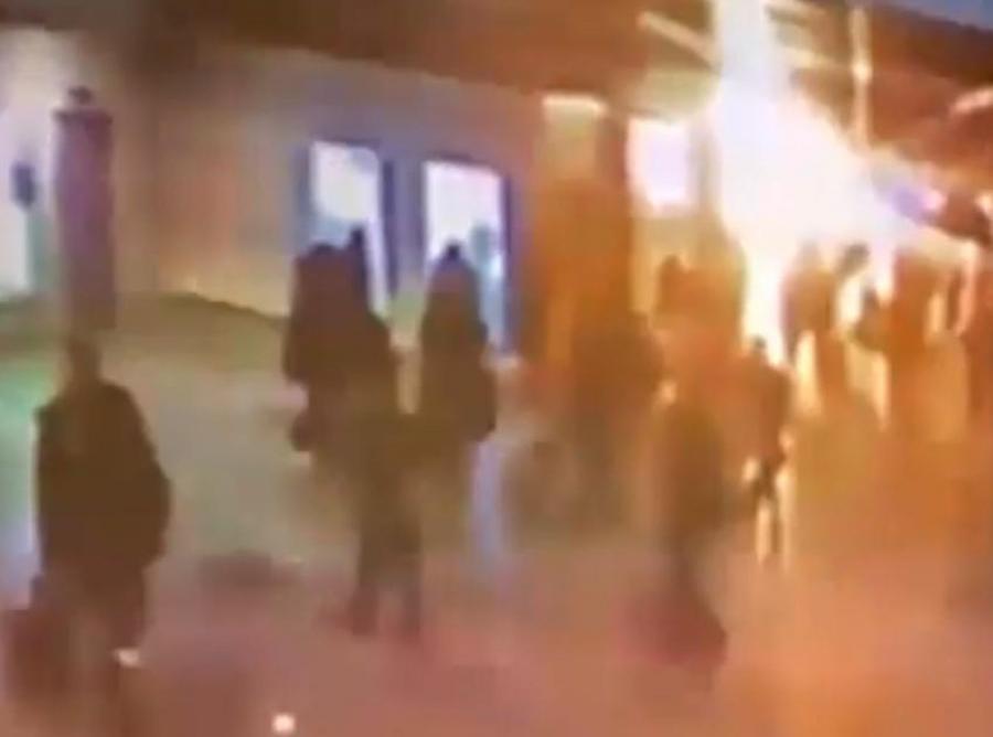 20-latek z Kaukazu wysadził się na lotnisku w Moskwie
