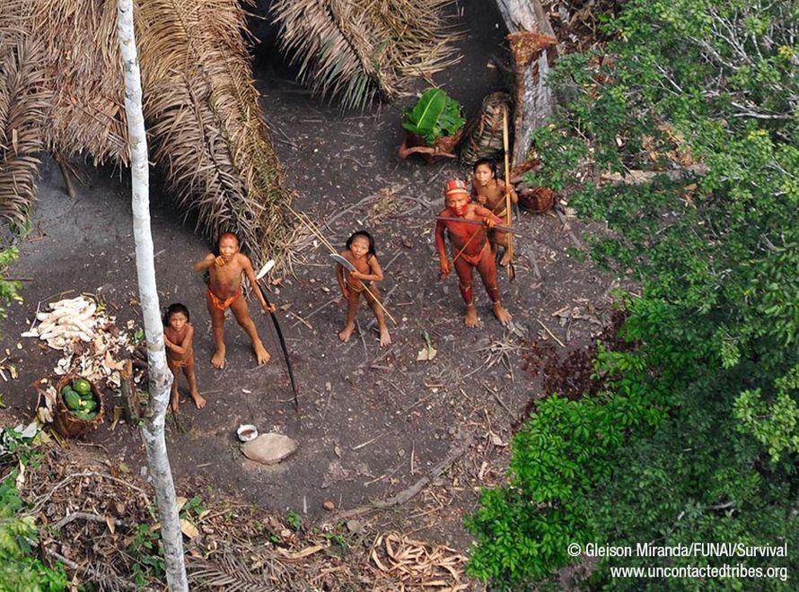 Sensacyjne zdjęcia! Oto plemię, które nie zna nic oprócz puszczy