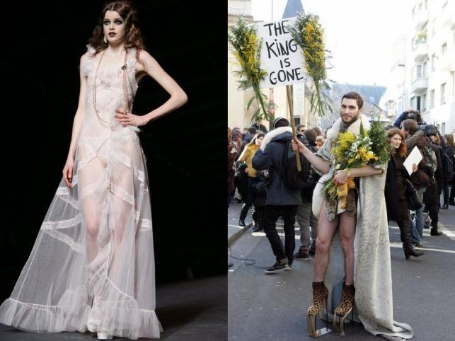 """""""Król odszedł"""": John Galliano po raz ostatni dla Diora"""