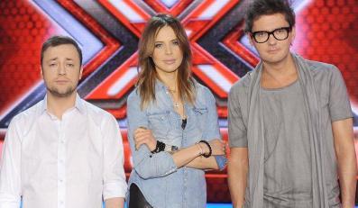 """Kuba w pracy z jury """"X Factor"""""""