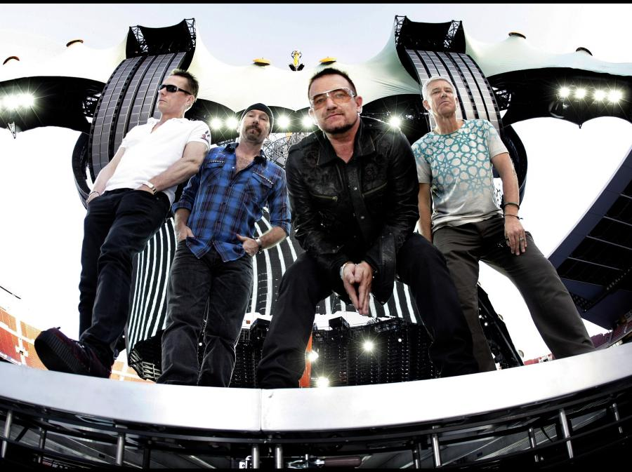 U2 w pełnym składzie