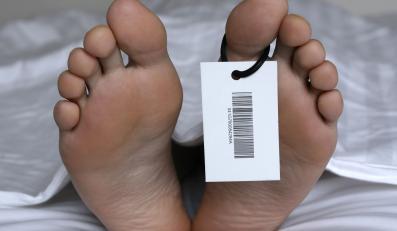 śmierć szpital stopa zgon