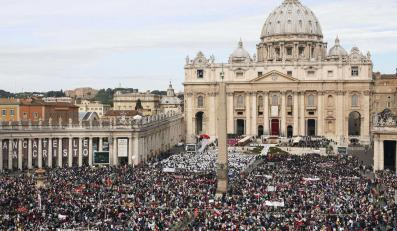 Watykan podczas beatyfikacji JPII