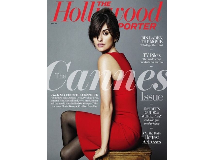 "Penelope Cruz na okładce ""The Hollywood Reporter"""