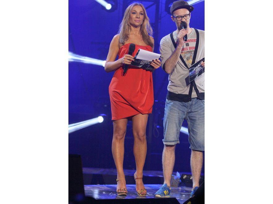 Sonia Bohosiewicz na rozdaniu Eska Music Awards