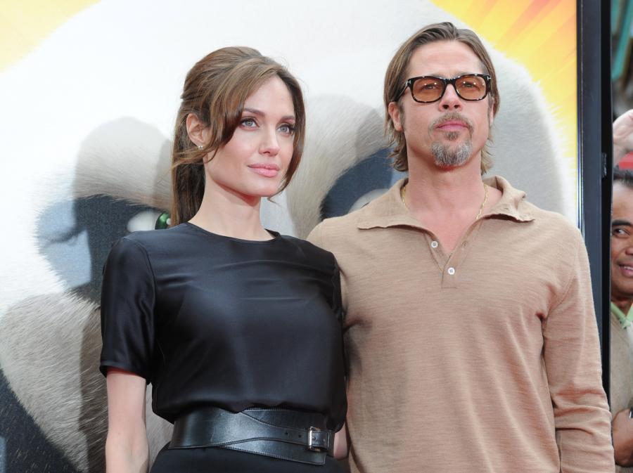 Angelina Jolie i Brad Pitt. Gdyby nie spotkanie na planie filmowym, Brad jeszcze mógł być z Jennifer Aniston...
