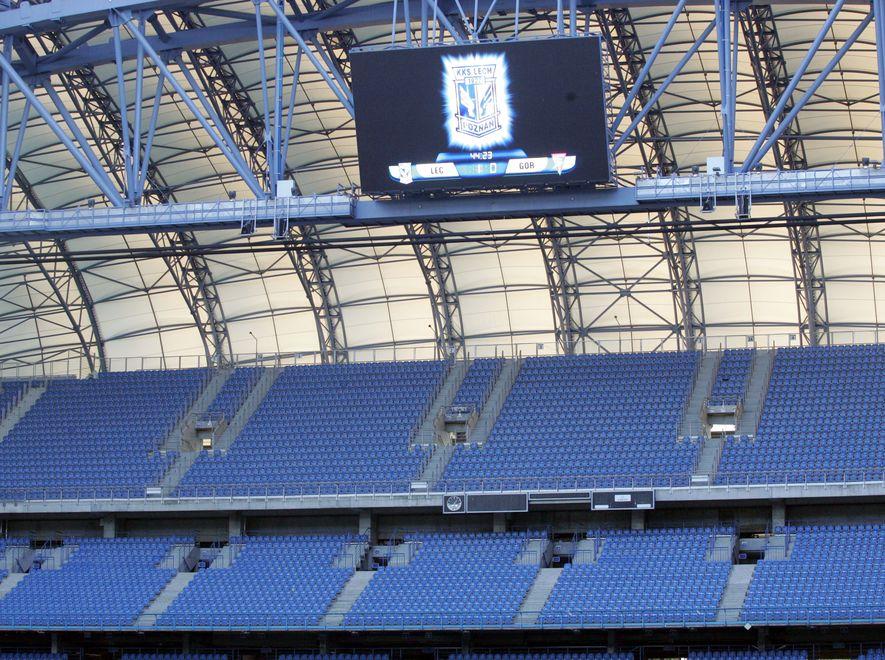 Na stadionie w Poznaniu symulowana będzie ewakuacja tysięcy kibiców