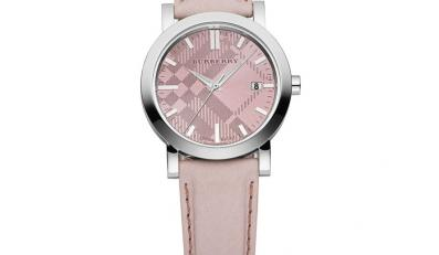 Nowa kolekcja zegarków Burberry. Z obowiązkową kratą