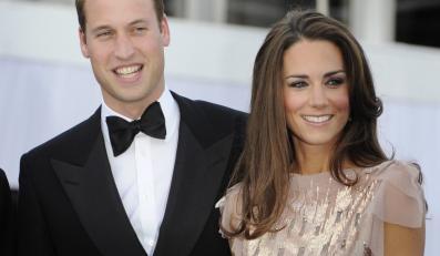 Książę William i księżna Catherine na swoim I oficjalnym wystąpieniu - bankiecie charytatywnym w rezydencji Kensington Palace.