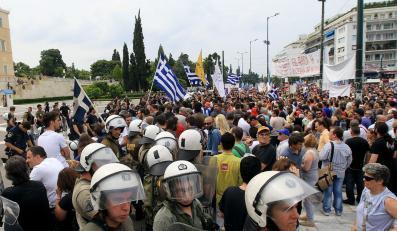 """Potężny kraj Unii nie pomoże Grecji. """"To byłoby niewłaściwe"""""""