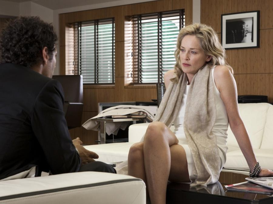 Seksowna pani prokurator Sharon Stone \