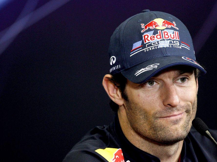 Webber najszybszy na pierwszym treningu w Walencji