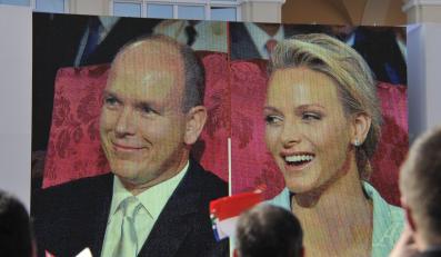 Ceremonia ślubna była transmitowana na wielkich telebimach