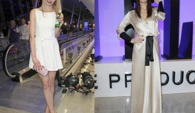 Modelki na pokazie Simple Creative Products zwracały uwagę upiornym makijażem.