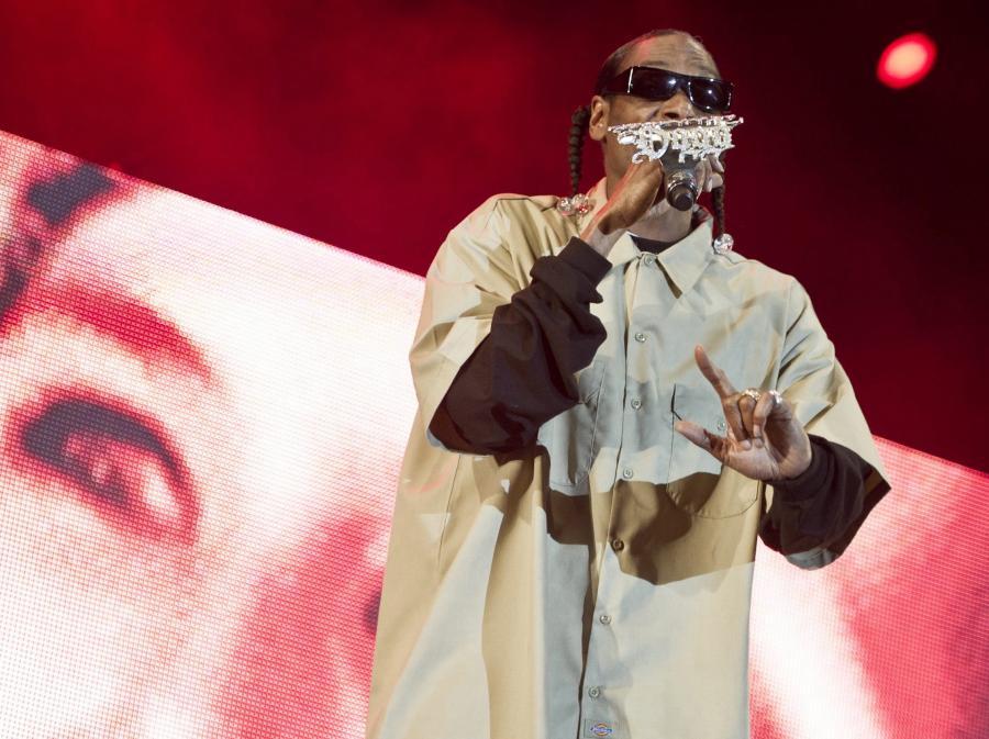 Calvin Cordozar Broadus alias Snoop Dogg na festiwalu Openair w Frauenfeld, Szwajcaria
