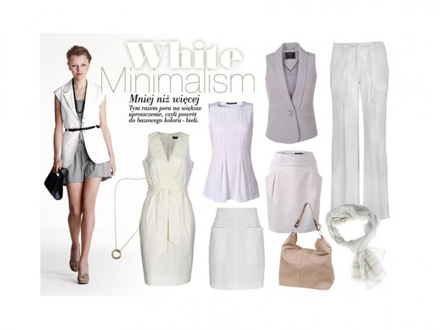 Lato w bieli - propozycje marki Top Secret na lato 2011.
