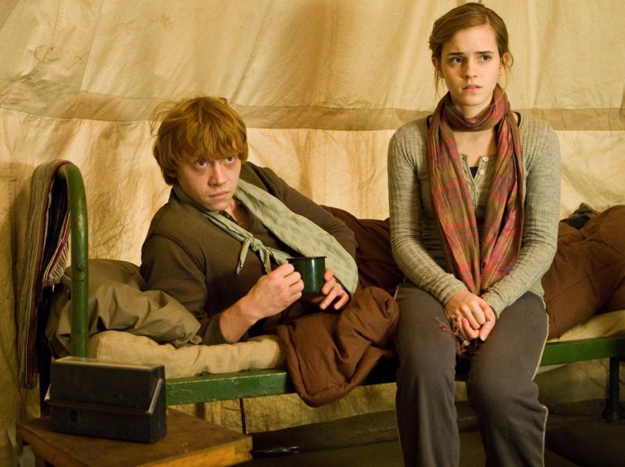 Emma Watson i Rupert Grint