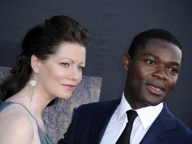 David Oyelowo z żoną Jessicą