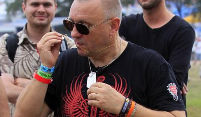 Jerzy Owsiak na Przystanku Woodstock