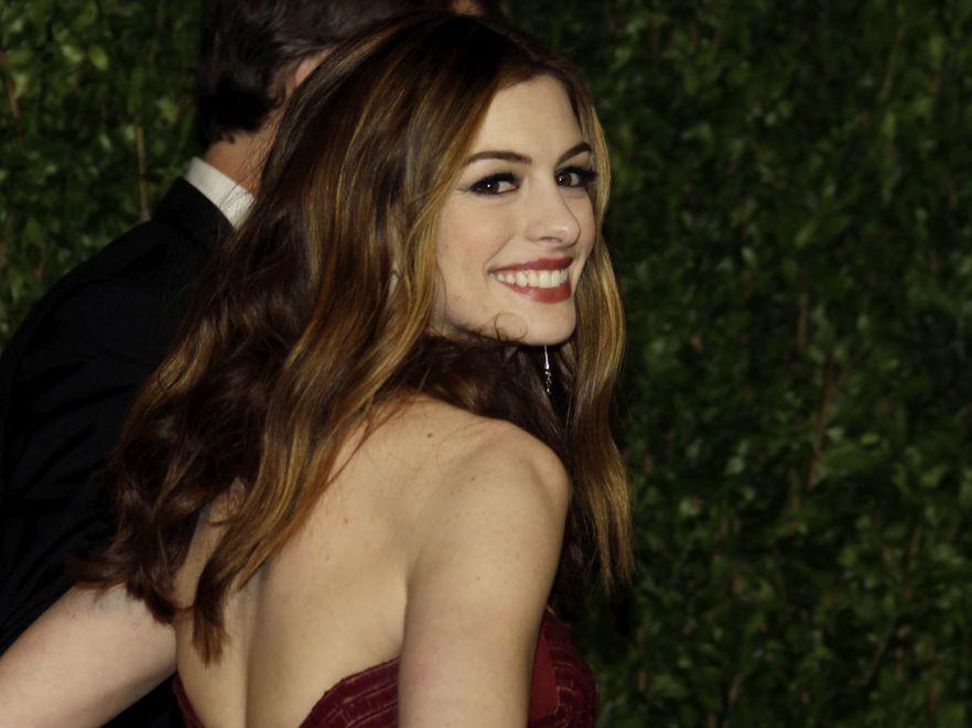 Anne Hathaway wierzy w miłość od pierwszego wejrzenia