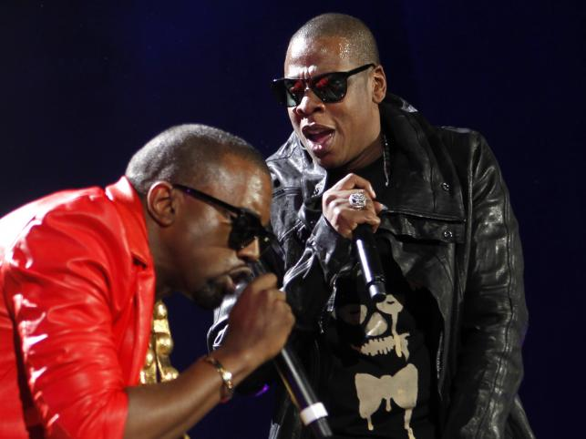 Jay-Z (na zdjęciu z Kanye Westem) także należy do zagorzałych zwolenników Obamy