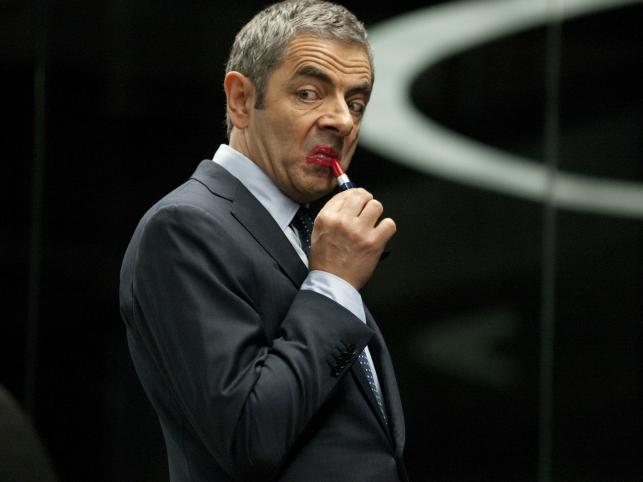 Rowan Atkinson jako Johnny English