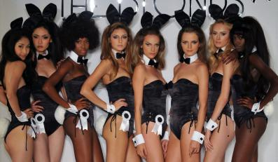 "Pokaz kolekcji ""The Blonds presented by Playboy"""