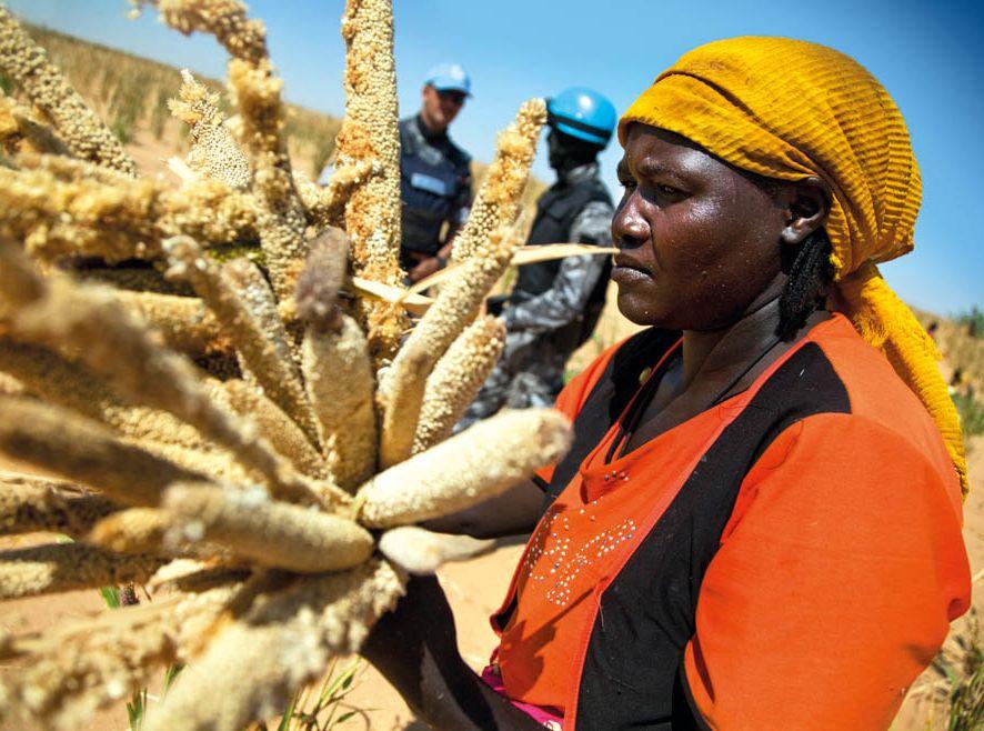 W Darfurze od niedawna jest spokojnie