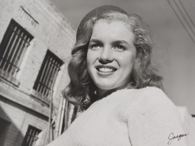 Marilyn Monroe na zdjęciu Josepha Jasgura z marca 1946 roku