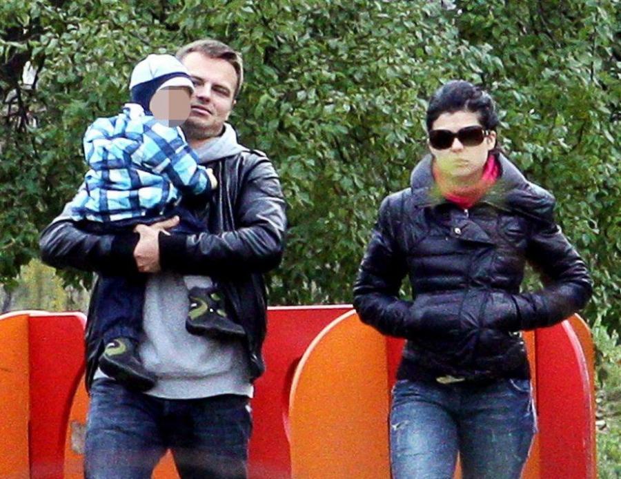 Kasia i Marcin z synkiem