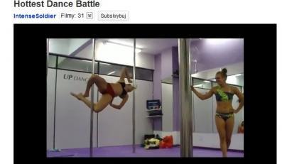 Rywalizujące zawodniczki Lap Dance
