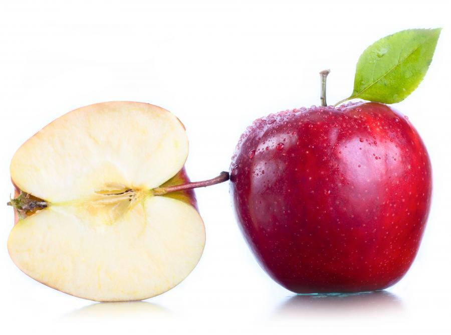 Jabłka są już droższe niż banany