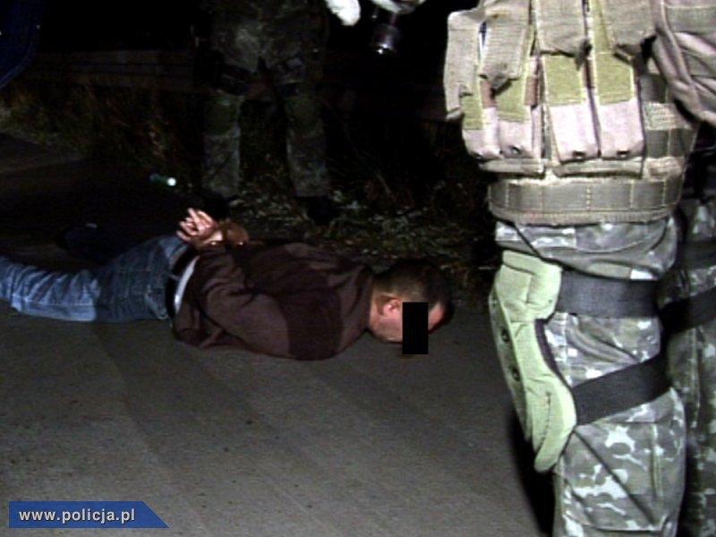 Kradli w Niemczech, wpadli w Polsce