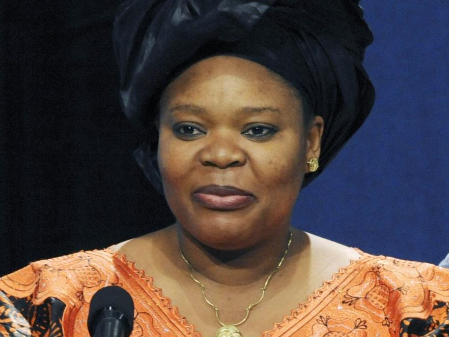 Leymah Gbowee - bojowniczka o pokój w Afryce, laureatka pokojowej nagrody Nobla 2011.