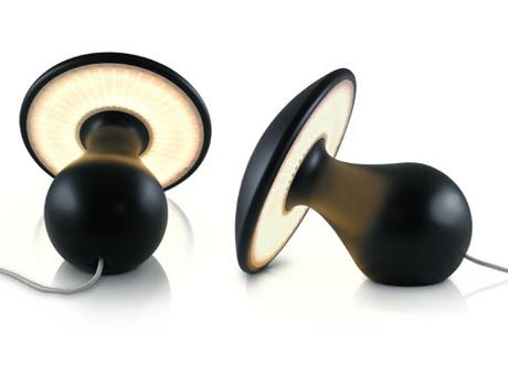 Design XXI wieku: Lampa w kształcie grzyba