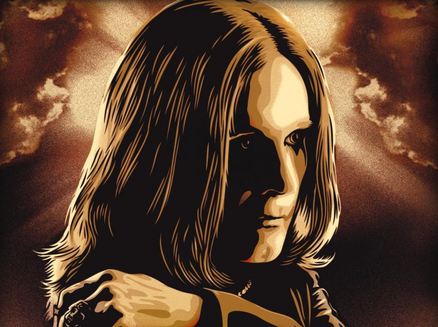 Ozzy Osbourne z plakatu