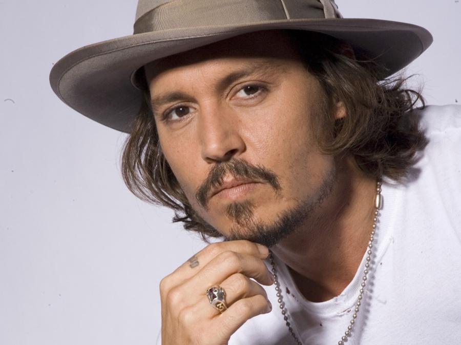 Zabawny Indianin Johnny Depp