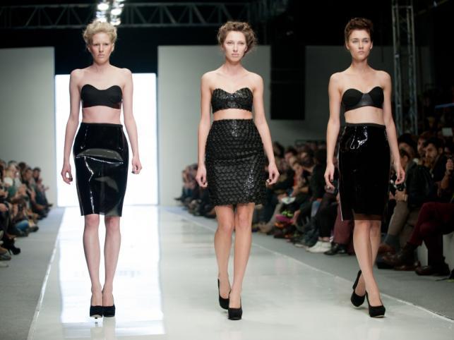 ZUO CORP. - pokaz kolekcji wiosna/lato 2012 na Fashion Week Poland Łódź.