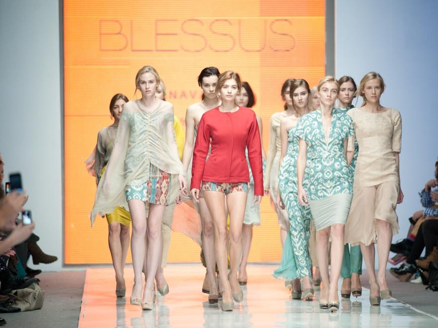 Pokaz marki Blessus podczas 5 edycji Fashion Week Poland.