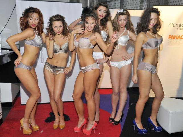 Panache - pokaz kolekcji bielizny i strojów kąpielowych na sezon wiosna-lato 2012.