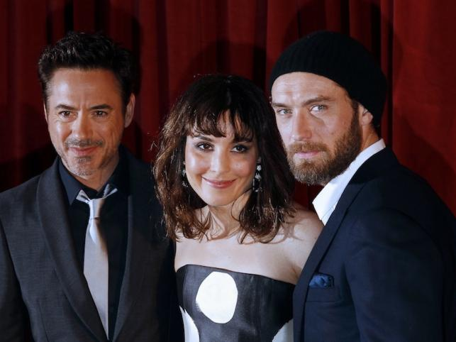 Robert Downey Jr., Noomi Rapace i Jude Law